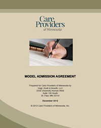 Model Admission Agreement