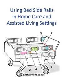 Side Rail Pamphlet for Home Care & AL with Custom Logo