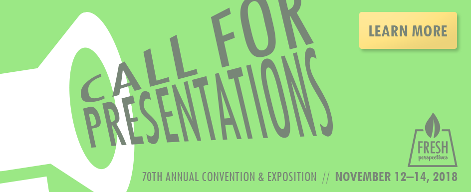 Call for Presentations: Convention 2018