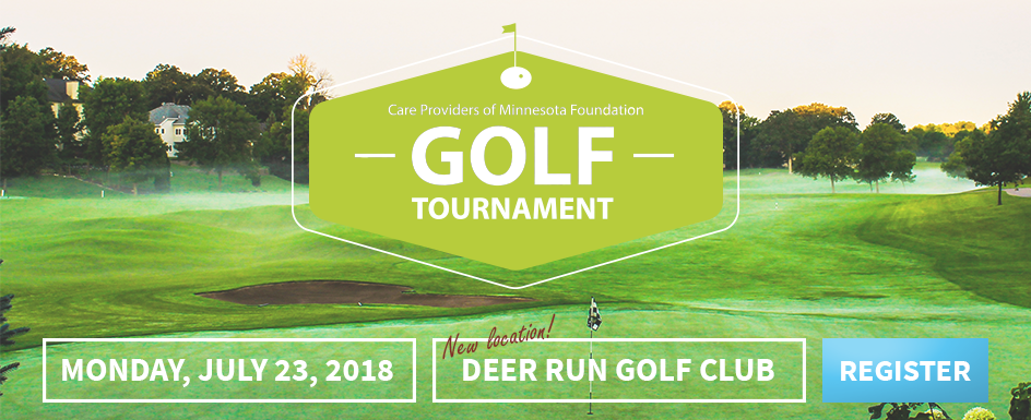 Register for the 2018 Care Providers of Minnesota Foundation Golf Tournament!